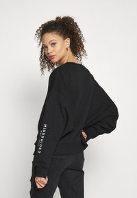 Missguided Petite - EMBROIDERED - Sweater - black - 2