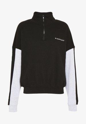 ZIP JACKET - Sweatshirt - black