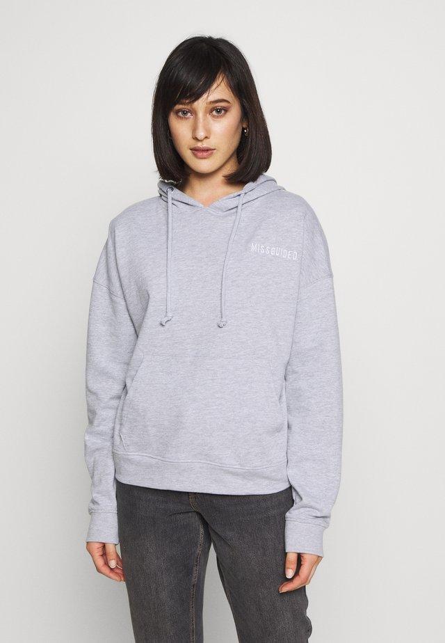 Bluza z kapturem - grey