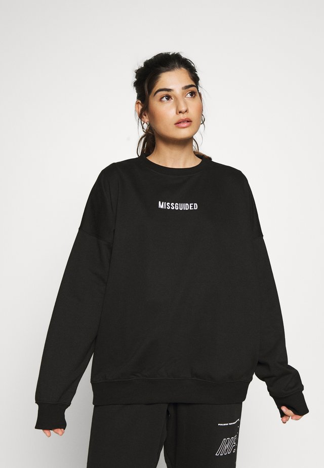 PETITE BRANDED - Sweatshirt - black