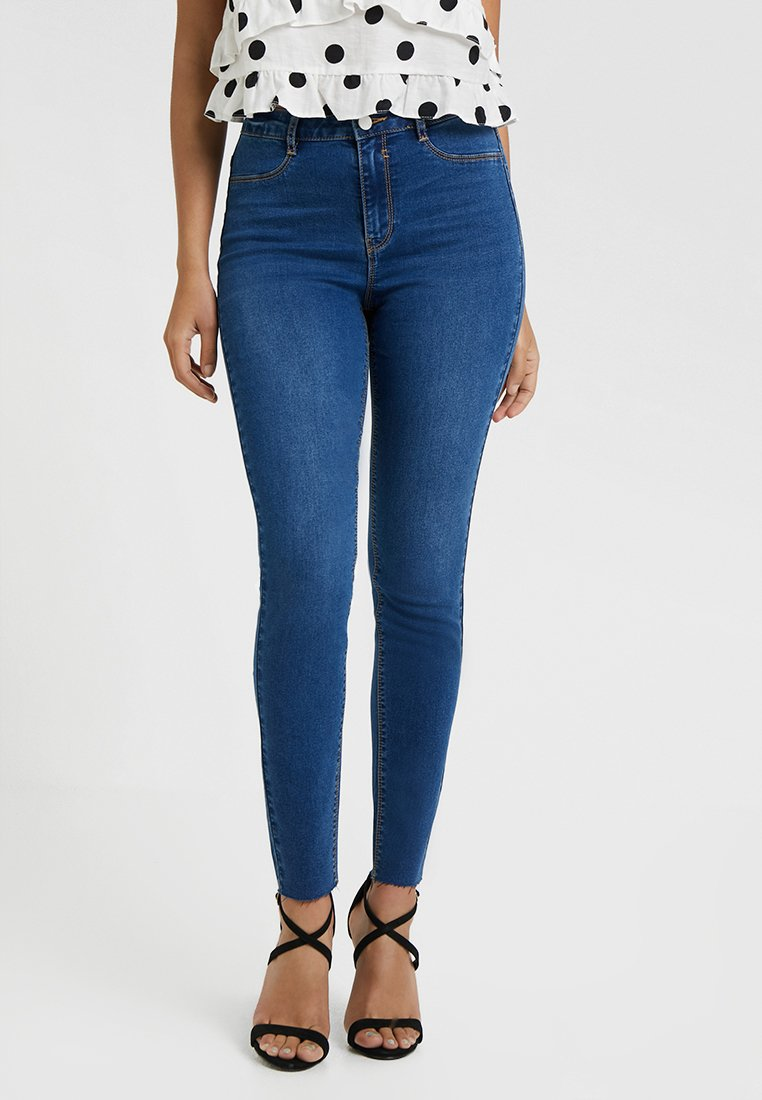 Missguided Petite - Jeans Skinny Fit - blue