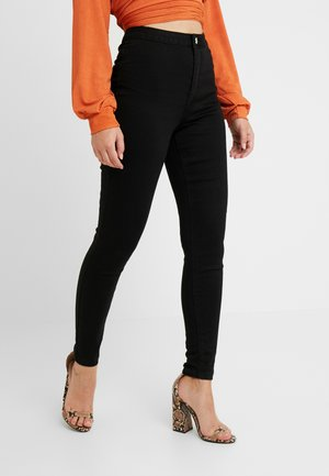 VICE HIGH WAISTED - Jeans Skinny - black