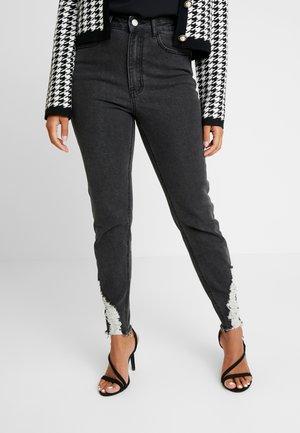 SINNER RIP KEY SHOUT - Jeans Skinny - washed black