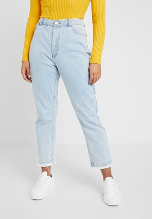 WRATH HIGH WAISTED  - Straight leg jeans - light wash