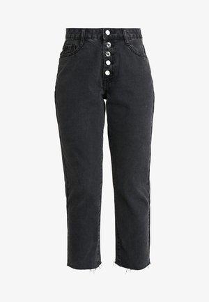 WRATH BUTTON FLY - Jeans straight leg - black