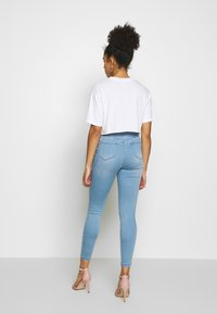 Missguided Petite - VICE HIGH WAISTED - Jeans Skinny Fit - stonewash - 2