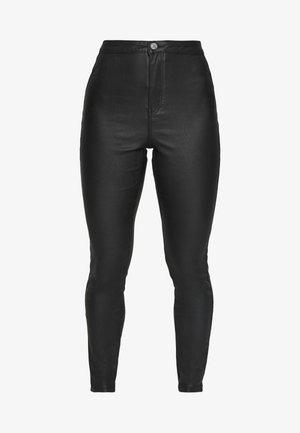 VICE HIGH WAISTED COATED  - Jeans Skinny - black