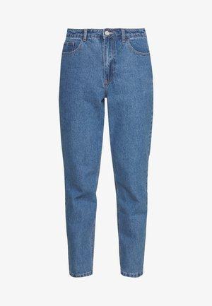 RIOT HIGHWAIST PLAIN MOM JEAN - Jeans Skinny Fit - blue