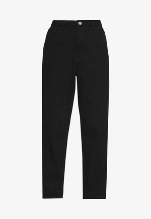 RIOT HIGHWAIST PLAIN MOM - Relaxed fit jeans - black