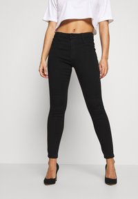 Missguided Petite - ANARCHY - Jeans Skinny Fit - black - 0