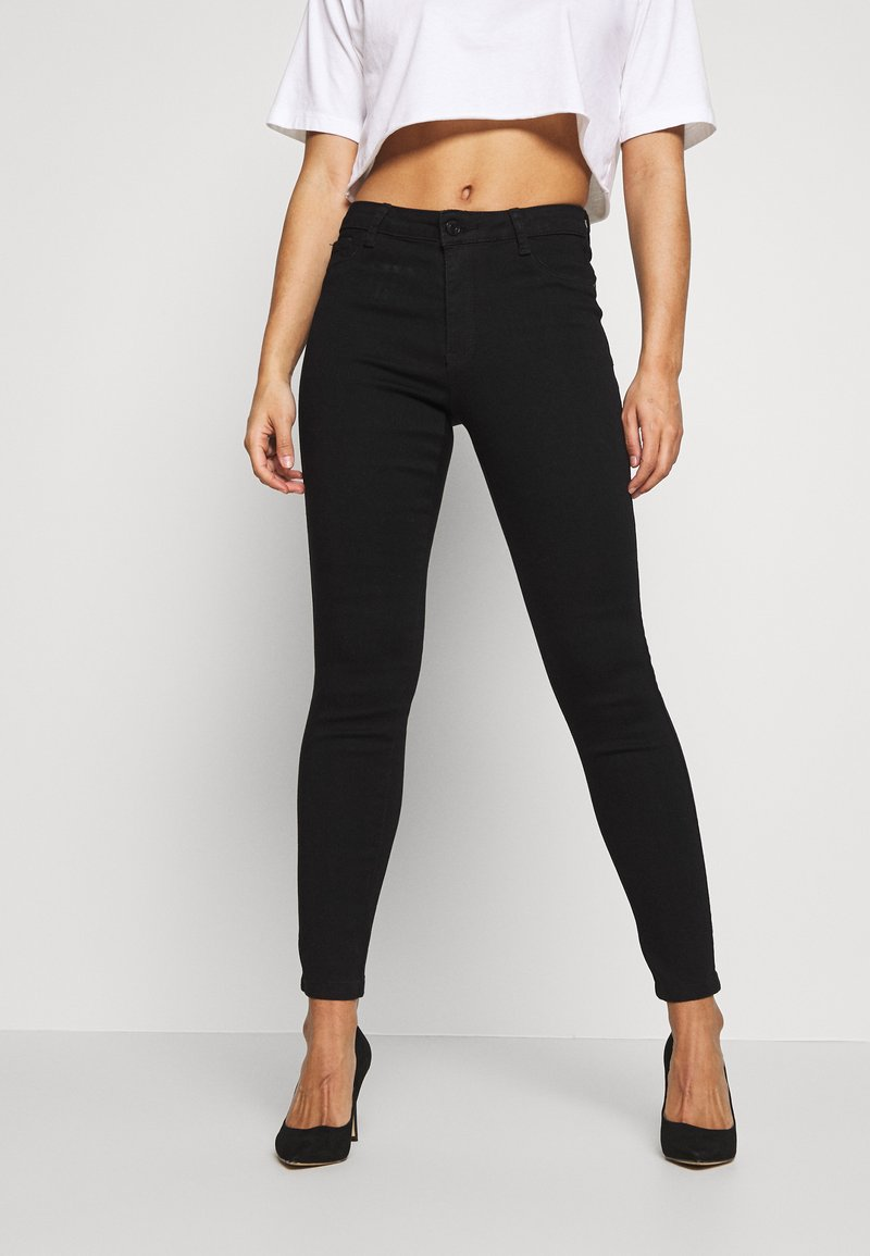 Missguided Petite - ANARCHY - Jeans Skinny - black