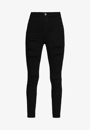 VICE HIGH WAISTED - Skinny džíny - black