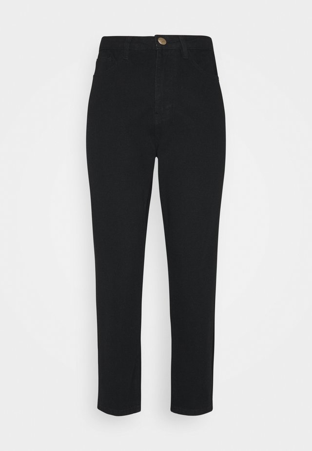 RIOT MOM - Jeansy Relaxed Fit - black