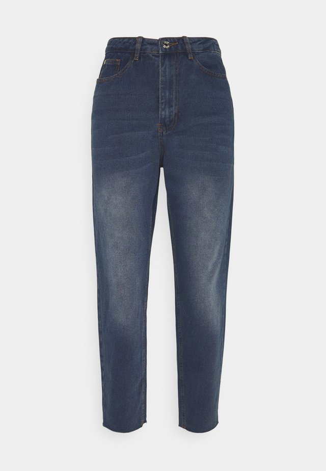 RIOT HIGHRISE CUT  - Jeansy Relaxed Fit - blue