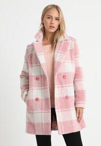 Missguided Petite - Wollmantel/klassischer Mantel - pink - 0