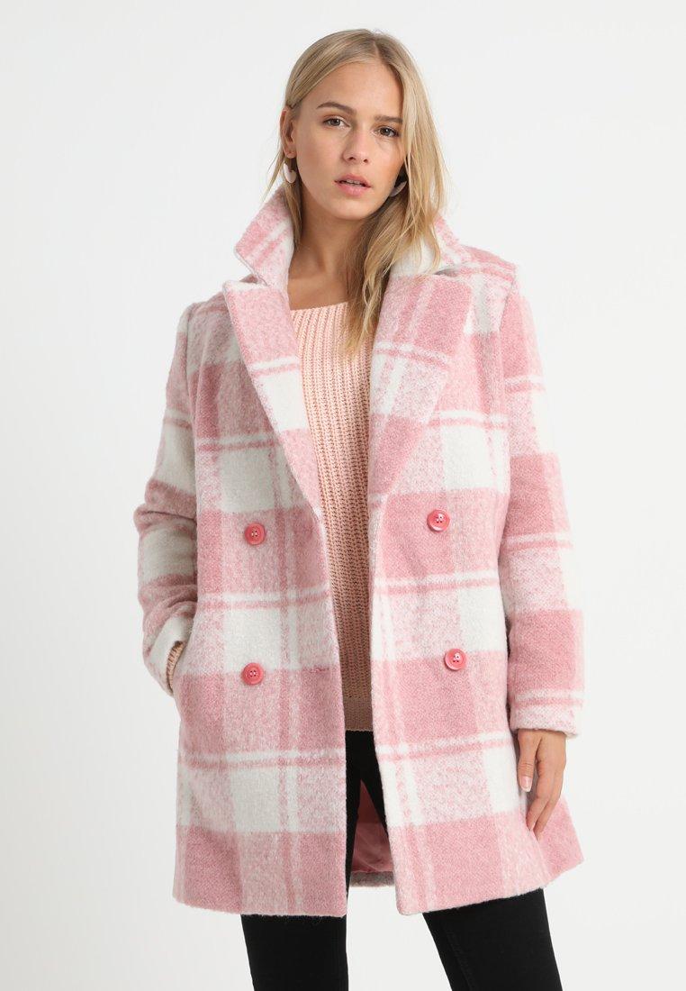 Missguided Petite - Wollmantel/klassischer Mantel - pink