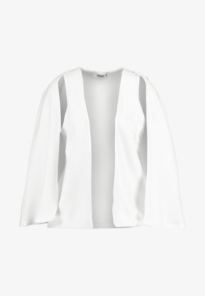 STRETCH BLAZER - Cape - white