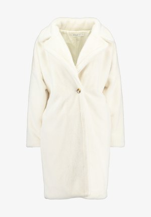 LONG LINE COAT - Winter coat - white