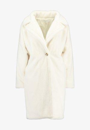 LONG LINE COAT - Zimní kabát - white