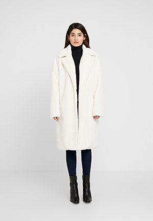 LONG LINE COAT - Winterjas - white