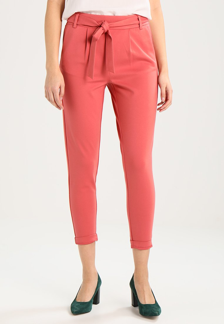 Moss Copenhagen - POPYE PANTS - Trousers - faded rose