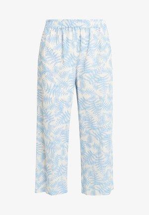 GRO CULOTTE - Pantalones - blue
