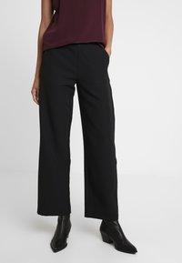 Moss Copenhagen - DUNA PANTS - Pantalones - black - 0