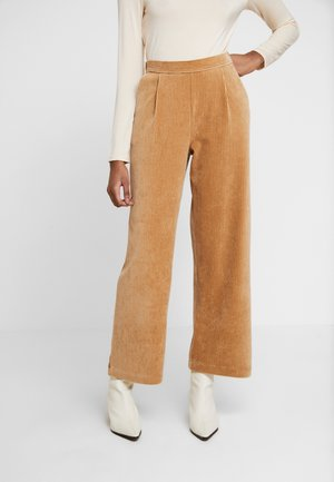 FLORINA PANT - Trousers - tigers eye