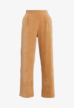 FLORINA PANT - Trousers - tigers eye
