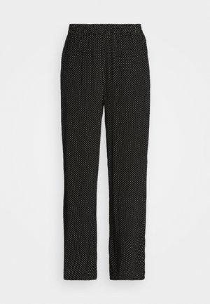 AMARA MOROCCO PANTS - Bukse - black