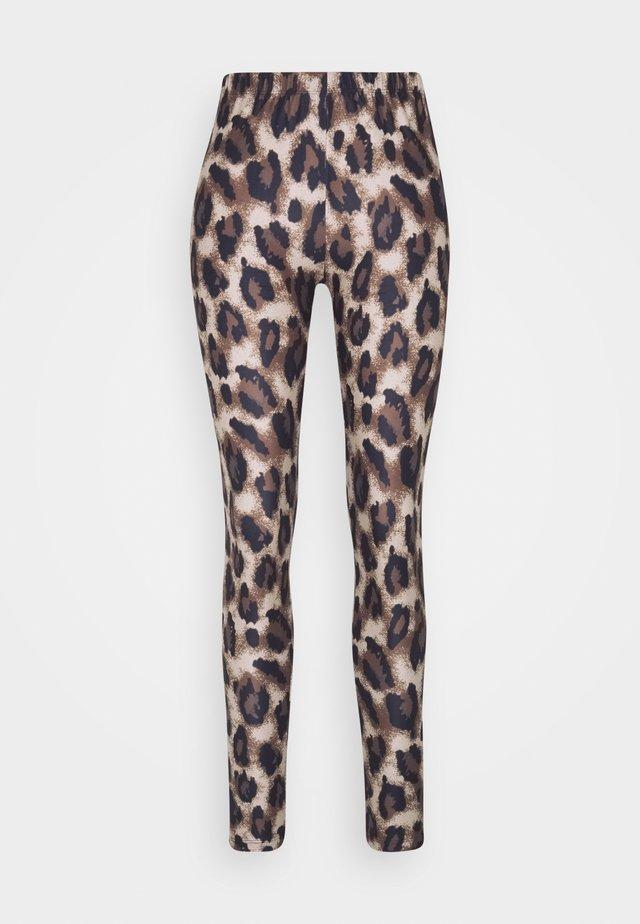 EVALY  - Legging - croissant leo