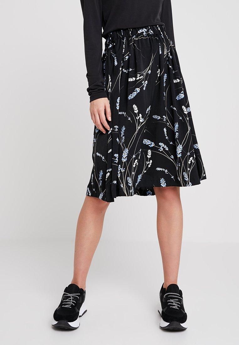 Moss Copenhagen - MINDA SKIRT - A-line skirt - black