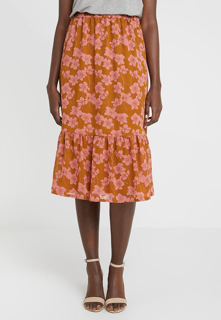 Moss Copenhagen - GRACIE SKIRT - A-snit nederdel/ A-formede nederdele - rose/light brown