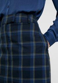 Moss Copenhagen - EMORY GIN SKIRT - Mini skirt - sky captain - 4