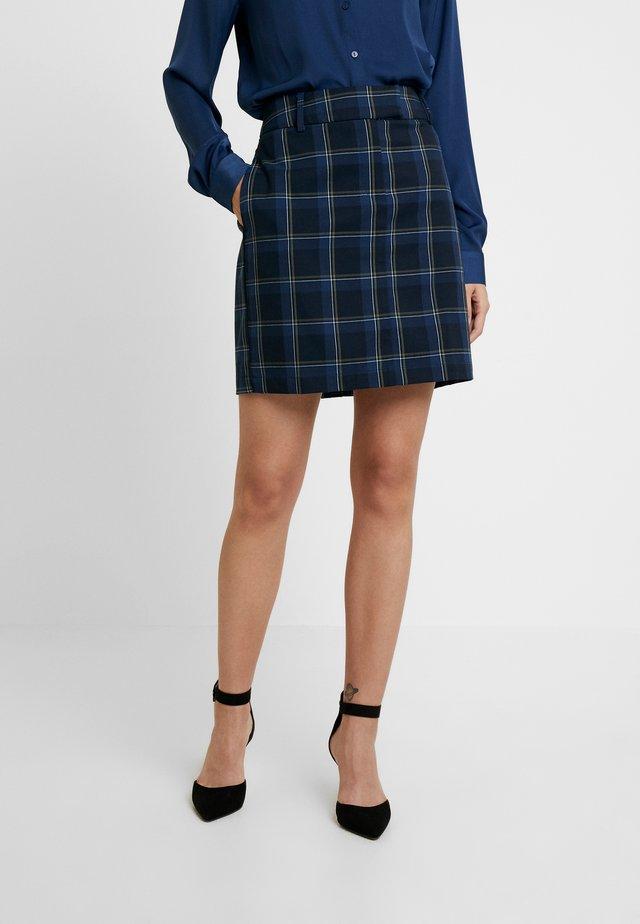 EMORY GIN SKIRT - Mini skirt - sky captain
