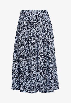 CELINA MOROCCO SKIRT - A-line skirt - blue