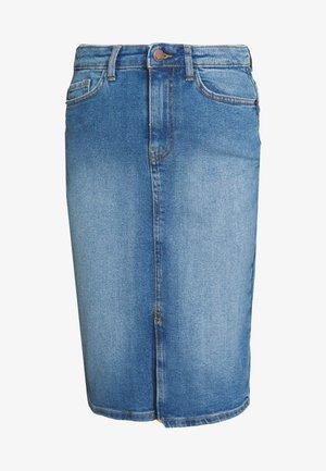 RIKKA SKIRT - Falda de tubo - blue wash