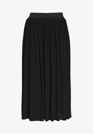 LINA SKIRT - Spódnica trapezowa - black