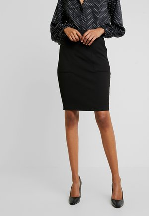 LAURINA SPECTER - Pencil skirt - black