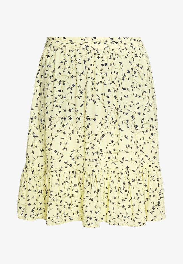 JILLIAN SHORT SKIRT - Minirock - banana
