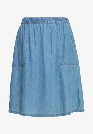 CHEA LYANNA SHORT SKIRT - A-line skjørt - light blue wash