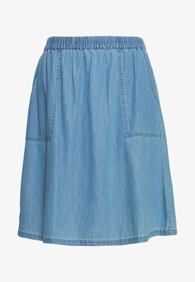 CHEA LYANNA SHORT SKIRT - A-Linien-Rock - light blue wash