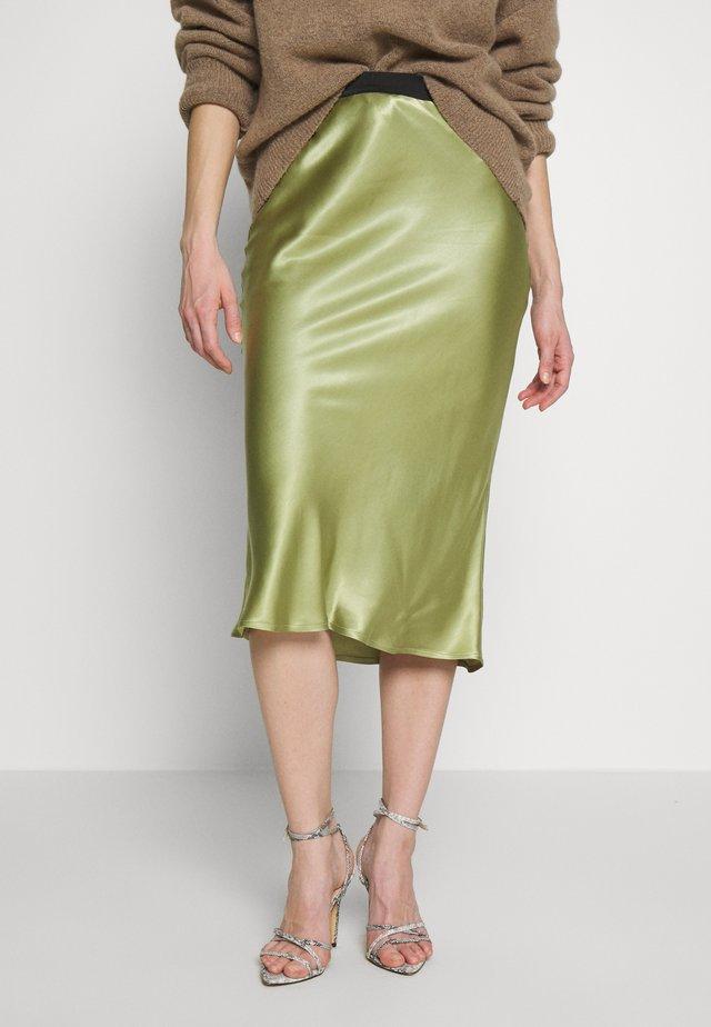 CELIE SKIRT - Pencil skirt - sage