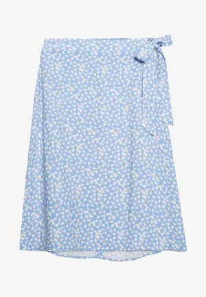 ELLIANE LEIA WRAP SKIRT - A-line skjørt - blue