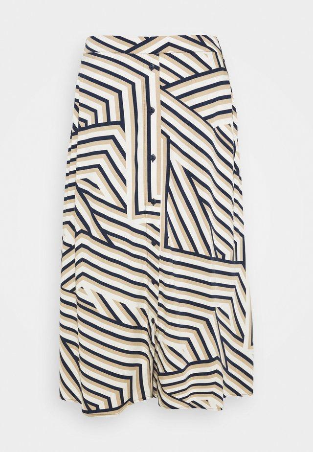 AVIANNA RAYE SKIRT - A-line skirt - space lines