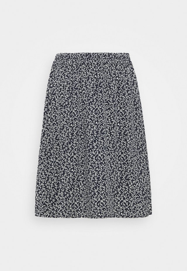 LAURALEE RAYE SKIRT - Jupe trapèze - dark blue