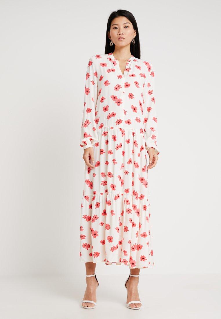 Moss Copenhagen - CAROL MOROCCA DRESS - Maxi dress - ice