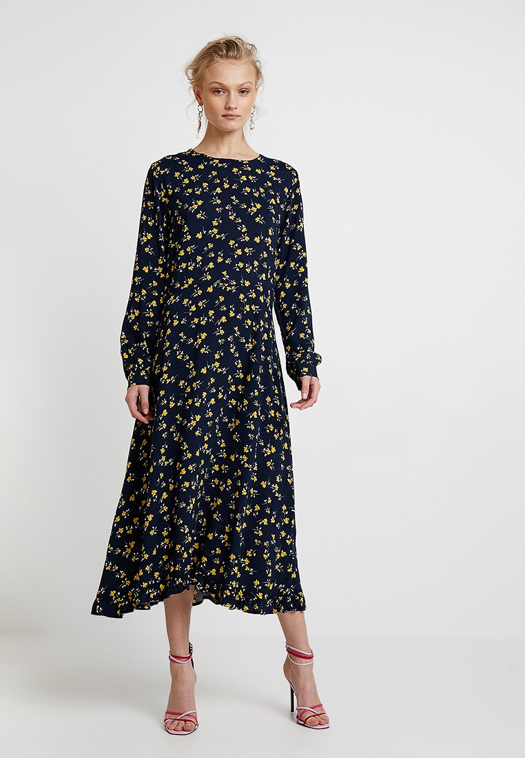 Moss Copenhagen - TURID DRESS - Maxikleid - dark blue