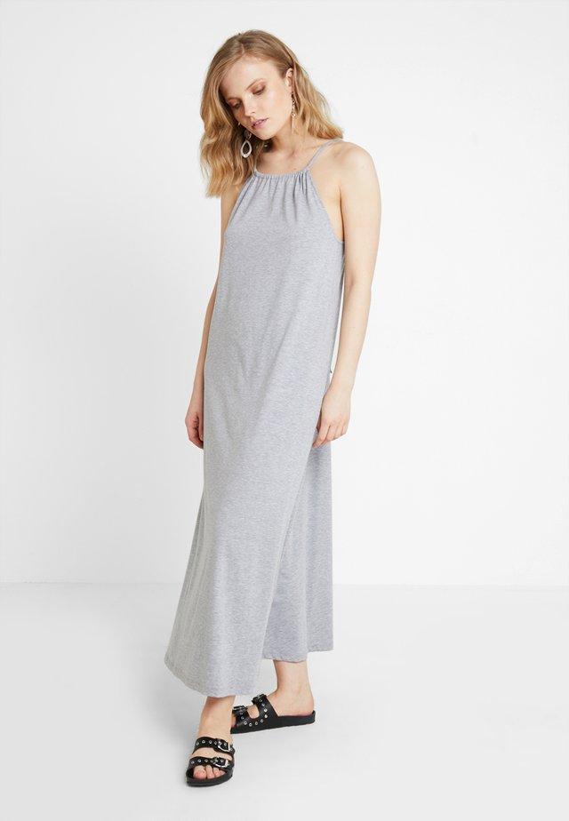 ELLINOR DRESS - Maxikleid - mottled light grey