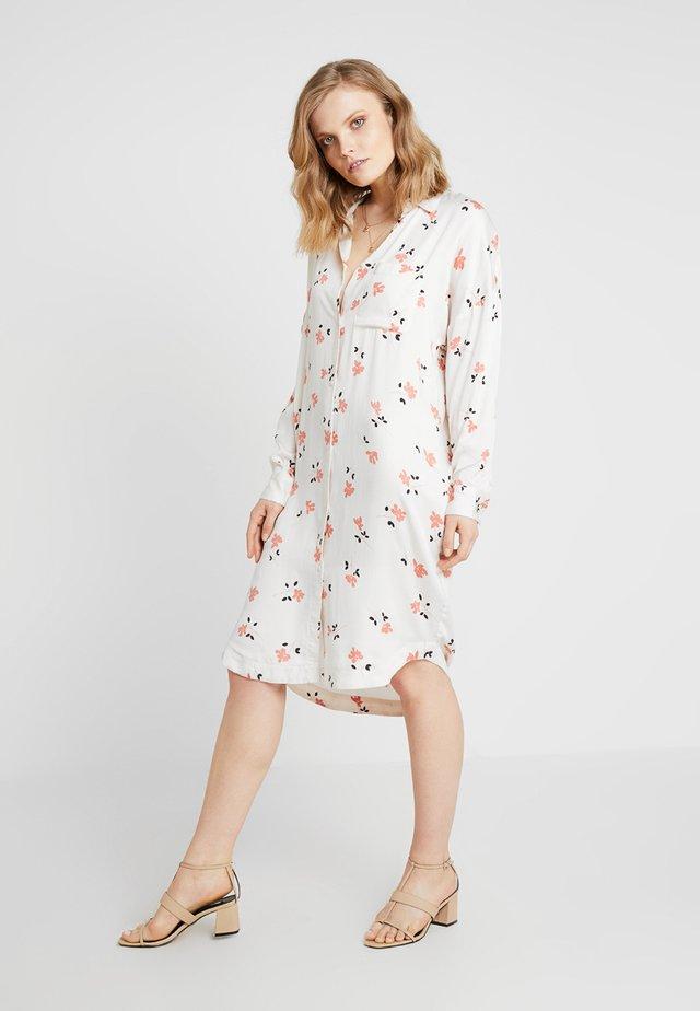 FRIA NOR DRESS - Blusenkleid - off white